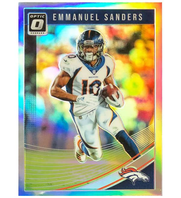 Panini 2018 Donruss Optic Football Card Emmanuel Sanders