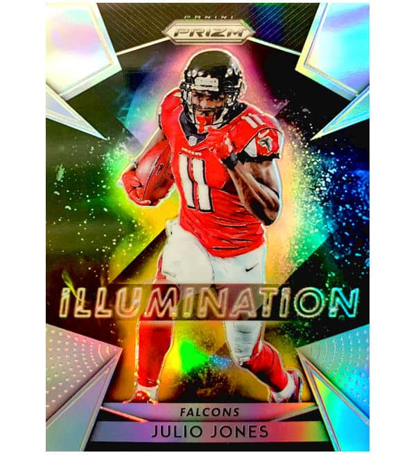 Panini 2018 Prizm NFL Football - Illumination Falcons Julio Jones