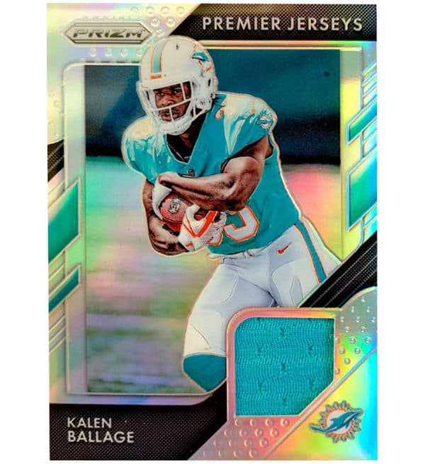 Panini 2018 Prizm NFL Football - Premier Jerseys Kalen Ballage
