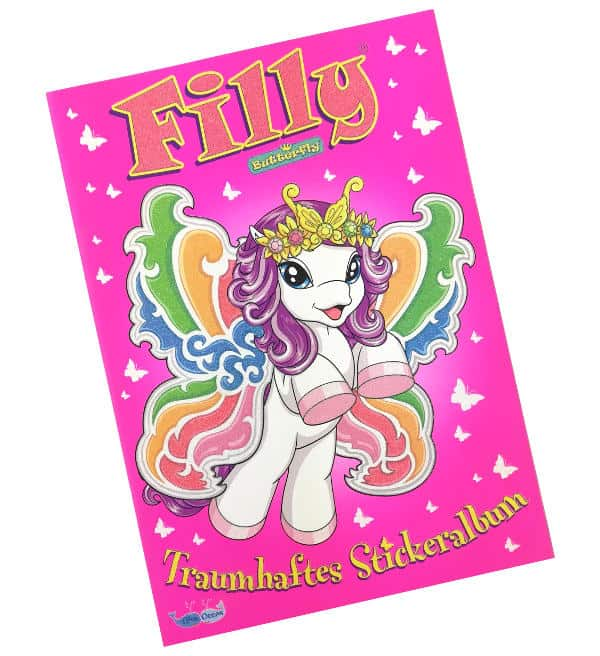 Filly Butterfly Sticker - Sammelalbum