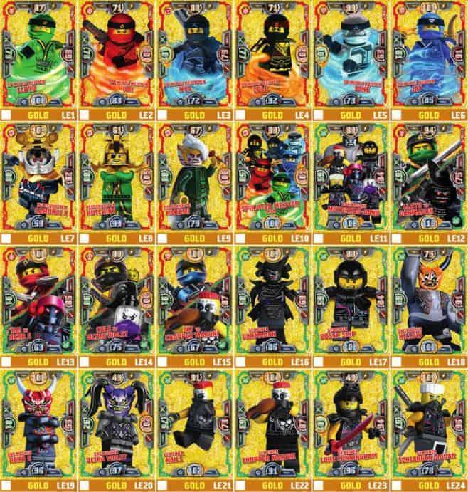 Ninjago Karten Gold Günstig Kaufen Ebay
