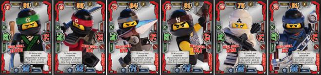 LEGO Ninjago SERIE 4 Helden Karte 10 Ultra Duell Cole