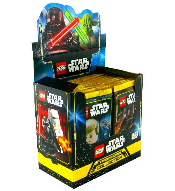 Lego Star Wars Serie 1 Karten - Display mit 50 Tüten