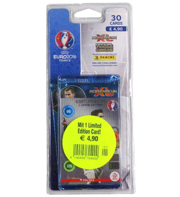 Panini Adrenalyn XL EURO 2016 Blister