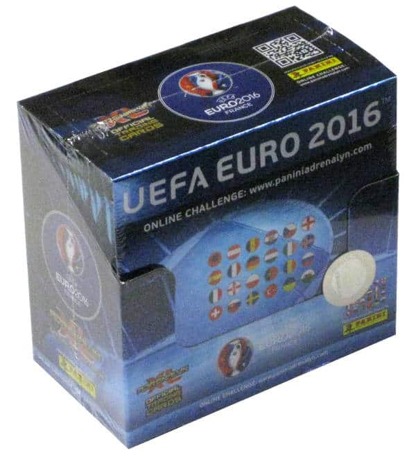 panini adrenalyn xl euro 2016 display stickerpoint. Black Bedroom Furniture Sets. Home Design Ideas