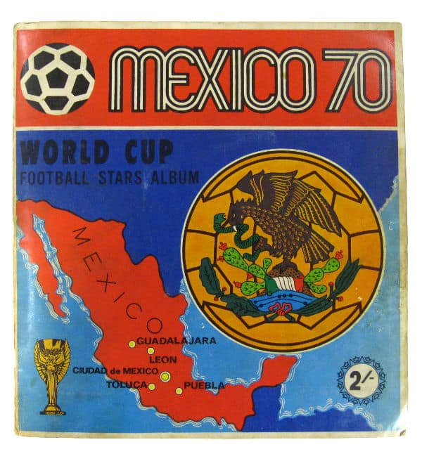 Panini Album Mexico 70 komplett - Cover