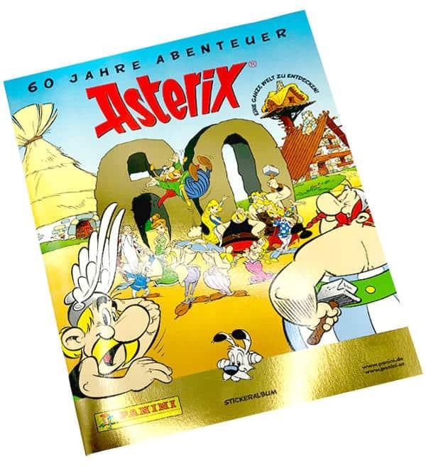 Panini 60 Jahre Abenteuer Asterix Kompletter Satz leeres Album