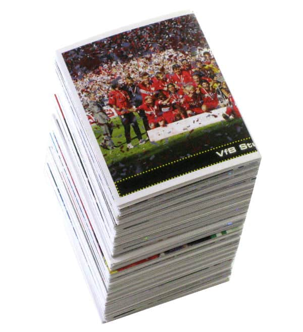 Panini Fussball 2007-2008 alle Sticker