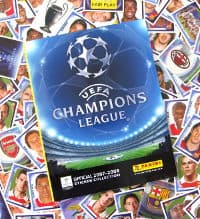 Panini Champions League 2007-2008 - alle Sticker + Album
