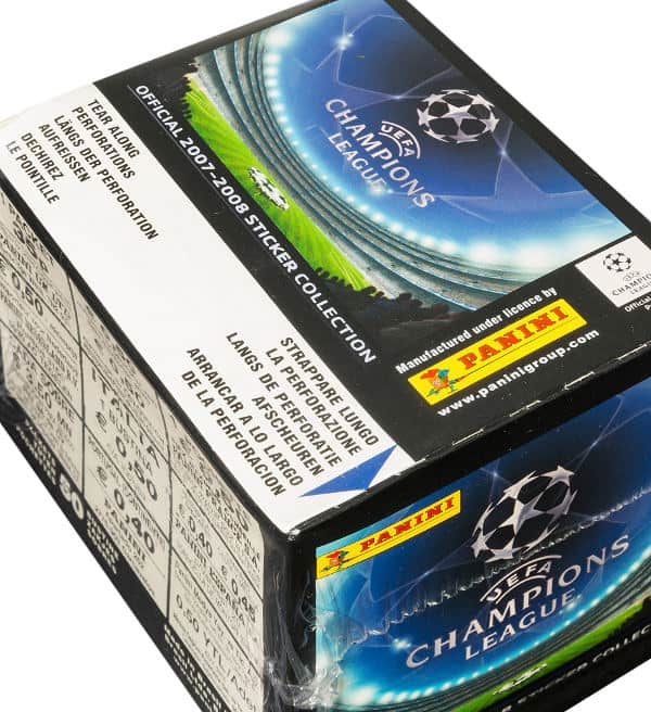 Panini Champions League 2007-2008 Box oben