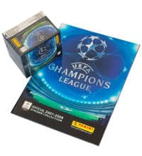 Panini Champions League 2007-2008 - Display + Album