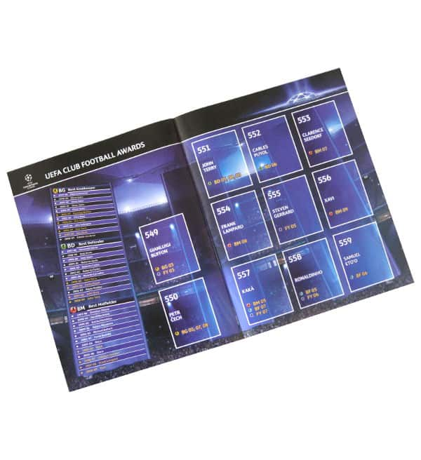 Panini Champions League 2009-2010 Sammelalbum Players In Action