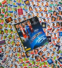 Panini Champions League 2010-2011 - alle Sticker + Album