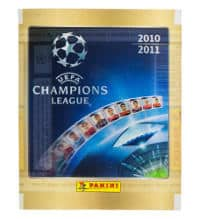 Panini Champions League 2010-2011 Sticker-Tüte
