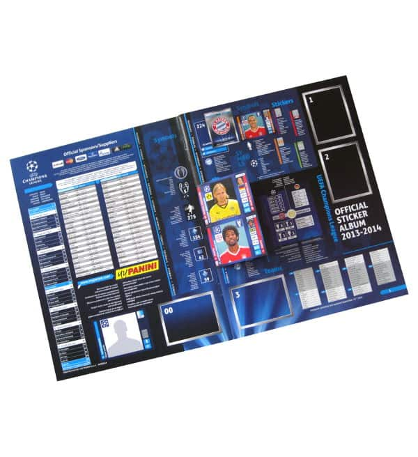 Panini Champions League 2013-2014 Sammelalbum Intro
