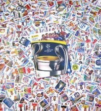 Panini Champions League 2014-2015 - alle Sticker + Album
