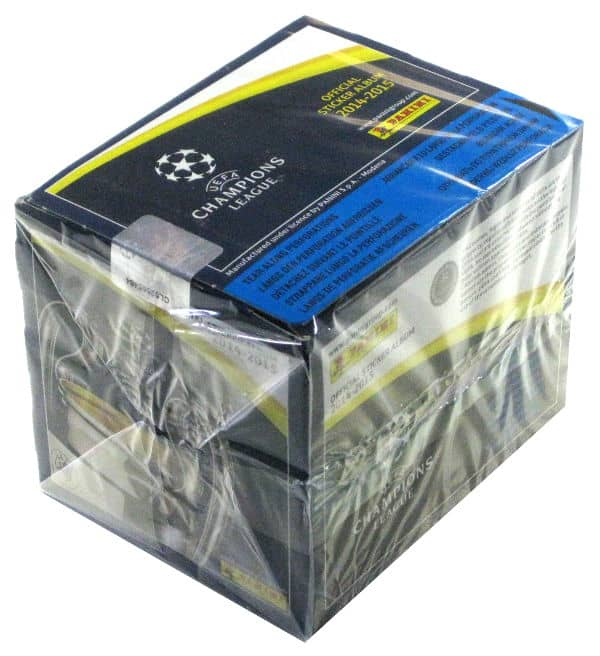 Panini Champions League 2014-2015 Display