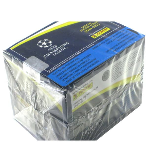 Panini Champions League 2014-2015 Display oben