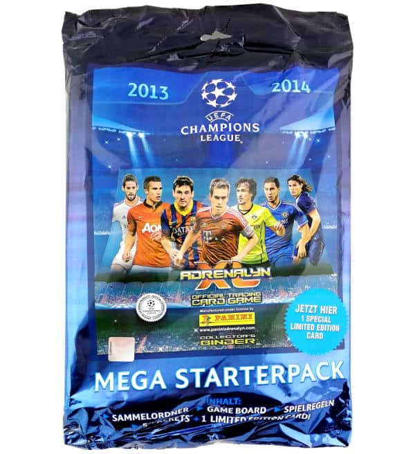 Panini Champions League Adrenalyn XL 2013/14 Starterpack