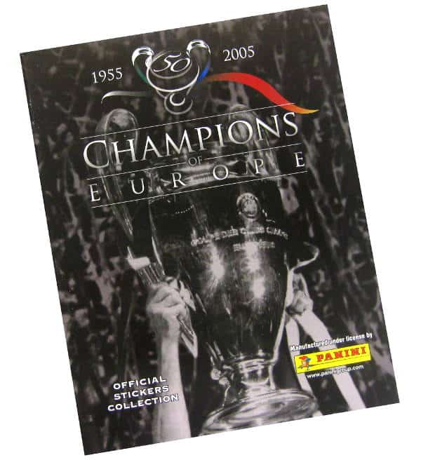 Panini Champions of Europe Sammelalbum