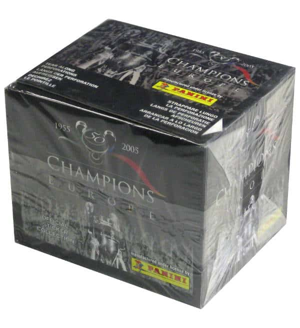Panini Champions of Europe Display - Box Front