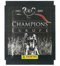 Panini Champions of Europe - Tüte mit 5 Stickern