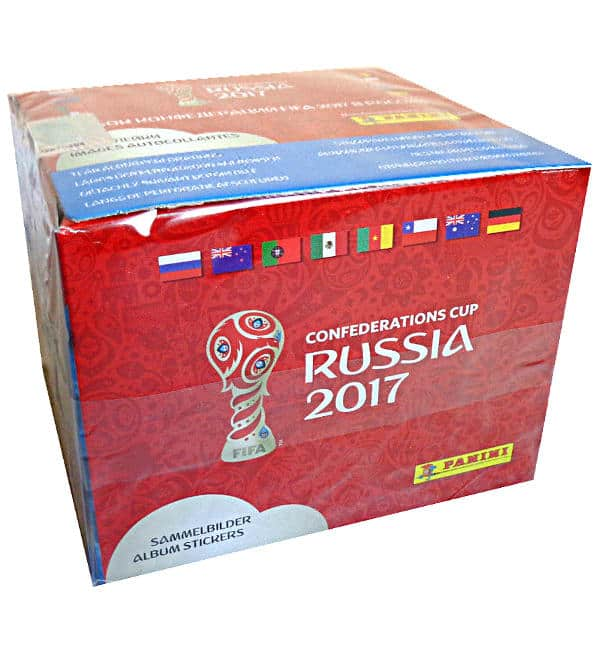 Panini Confed Cup 2017 Display Box