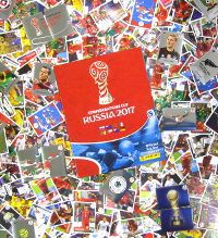 Panini Confederations Cup 2017 - Alle 288 Sticker + Album