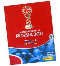 Panini Confederations Cup 2017 Sticker Album