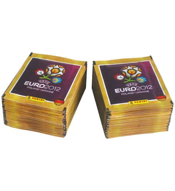 Panini EURO 2012 Sticker - 100 Tüten deutsche Version