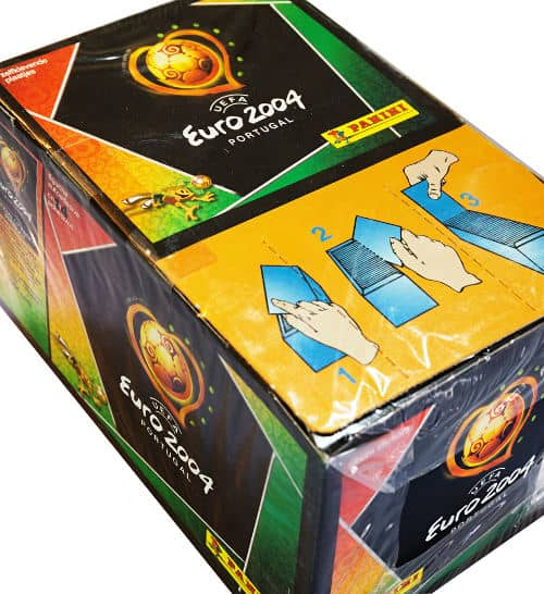 Panini EM Euro 2004 Display Box Oberseite