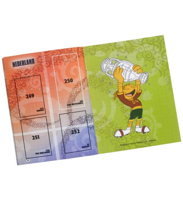 Panini EURO 2004 Mini Sticker-Album