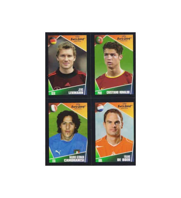 Panini EURO 2004 Mini Sticker