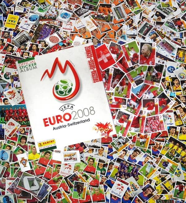 Panini Euro 2008 Suisse Edition - alle Sticker + Album