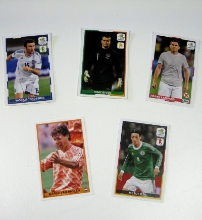 Panini Euro 2012 Tüte Albert Heijn Edition Sticker