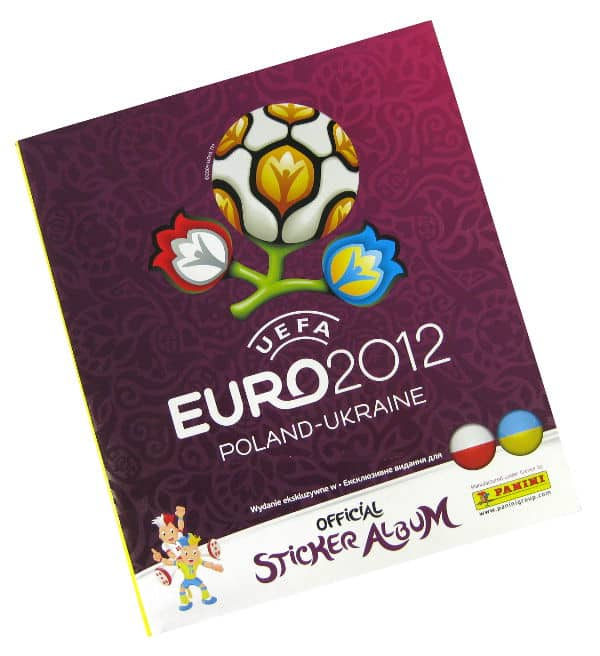 Panini Euro 2012 Album Version Polen Ukraine