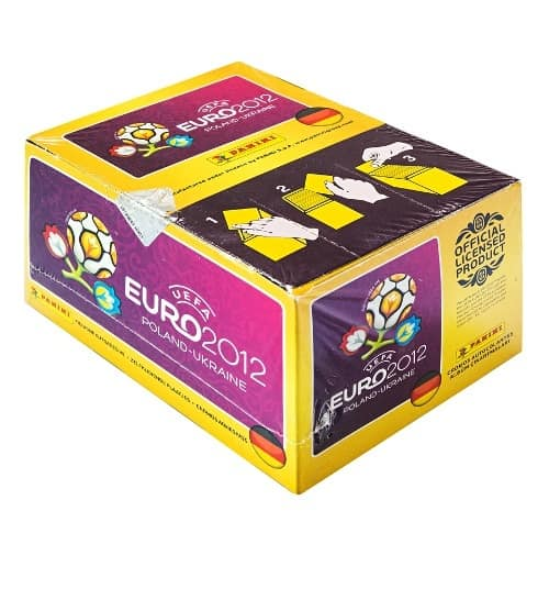 Panini EM Euro 2012 Display Box Vorderansicht
