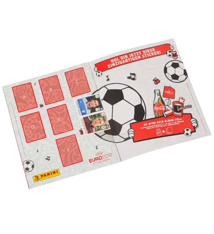 Panini EM Euro 2012 Sammelalbum international A-F Sondersticker