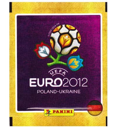 Panini Euro 2012 Tüte - Deutsche Version
