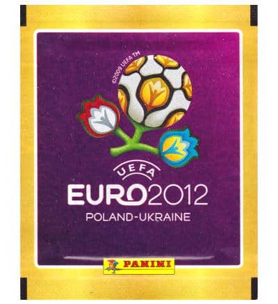 Panini Euro 2012 Tüte - Internationale Version