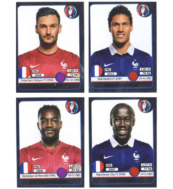 Panini EURO 2016 Schweiz Star Edition Sticker