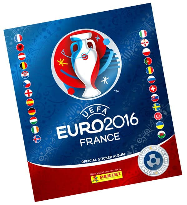 Panini EURO 2016 Star Edition Album