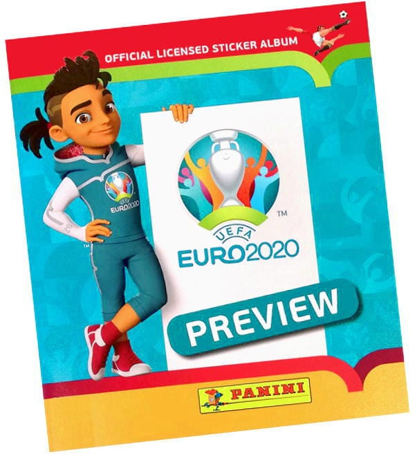 Panini EURO 2020 Preview Sticker - Album