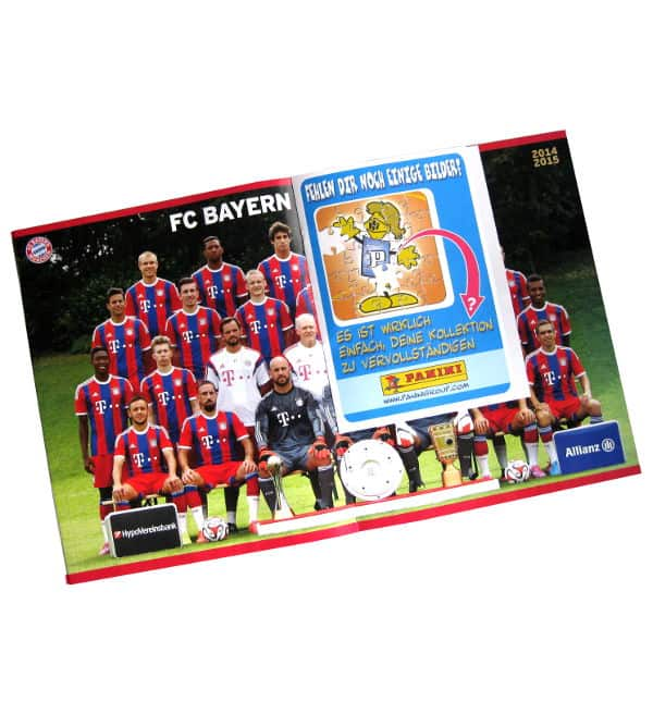 panini fc bayern m nchen 2014 2015 album stickerpoint. Black Bedroom Furniture Sets. Home Design Ideas