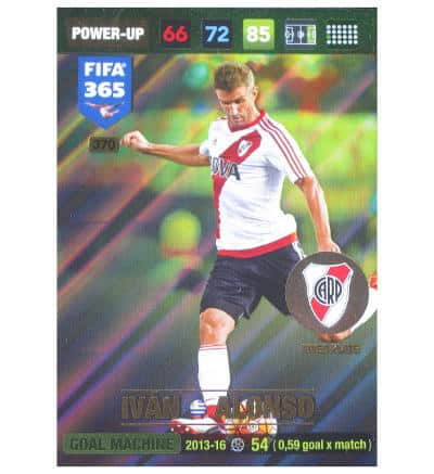 Panini FIFA 365 2017 Adrenalyn XL Karte Power Up Ivan Alonso
