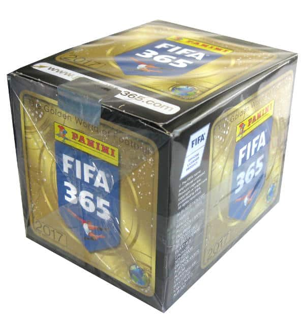 Panini FIFA 365 2017 Sticker Display