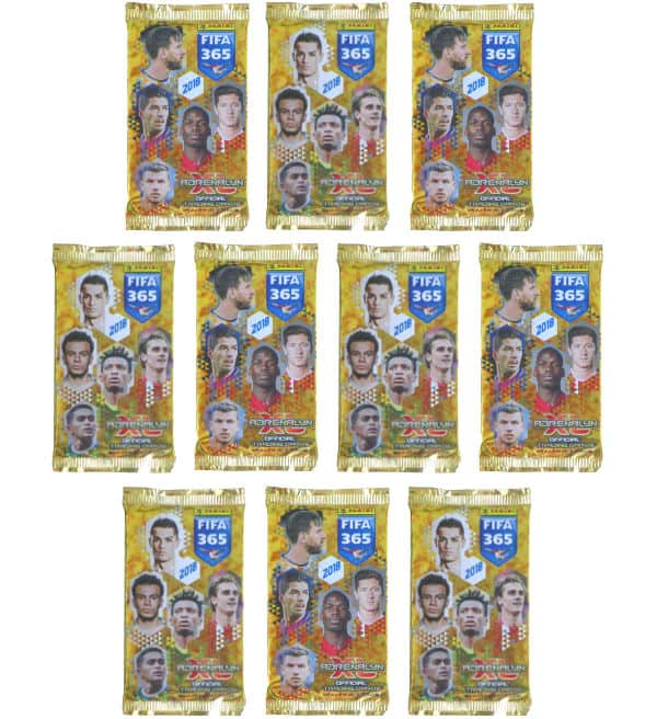 Panini FIFA 365 2018 Adrenalyn XL - 10 Booster
