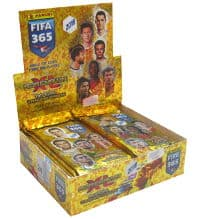 Panini FIFA 365 2018 Adrenalyn XL Display mit 24 Boostern