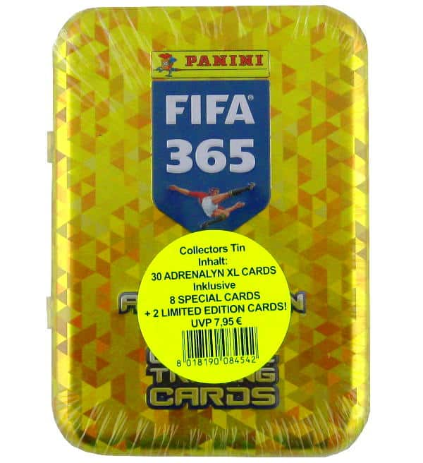 Panini FIFA 365 2018 Adrenalyn XL Pocket-Tin Preis