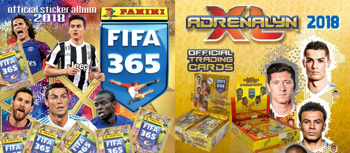 Panini FIFA 365 2018 Adrenalyn XL TCG